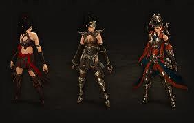 Different Level Armor Classes