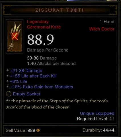 Ziggurat Tooth