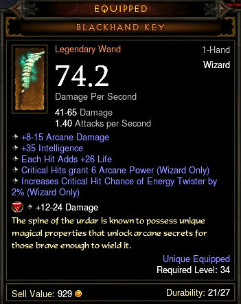 Blackhand Key