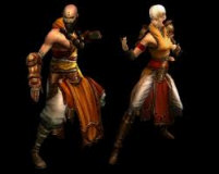 Male and Female Monk