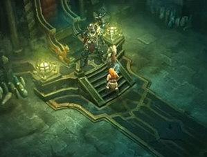 Barbarian Kills Skeleton King in Act 1