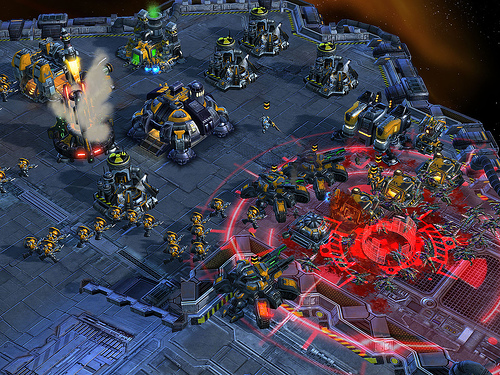 Ghost Nuke Terran Base